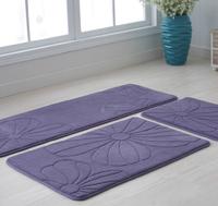 1set=3pcs home room mat bathroom set living room carpet bedside mat  free shipping