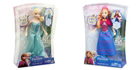 30CM Frozen princess New toy New Year Gift,100 Genuine Original Frozen princess doll, Musical Magic Lights,Free shipping.