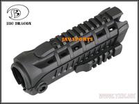 Big Dragon M4S1 Tactical Handguard Nylon Forend Rail BK,DE+Free shipping(SKU12050390)