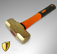 Non sparking Sledge Hammers,1 kg, Brass material,Safety Hand Tools