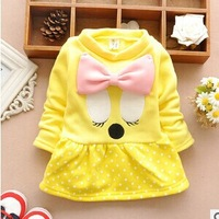 The winter of 2014 paragraph girls squinting duck cashmere thickened Tong bottoming shirt A184
