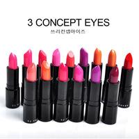 Brand 3CE, moisturizing lipstick high quality lipstick Brand Cosmetic Makeup Lustre Long Lasting Nude color Lipsticks M15018