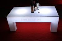 RGB remote control PE luminous furniture 120CM LED coffee table