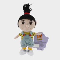 Free Shipping 1pcs 16cm Despicable Me 2 Plush Toys The Cute Girl Agnes Plush Doll For Kids Gift