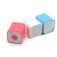 2014 New Smallest Portable Anti-lost Self Shutter Bluetooth Wireless Speaker with Mic 5 colors all in one