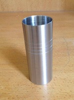 FREE SHIPPING 50pcs Stainless Steel Straight double jigger, Measuring Cup at 30/60ml, laser engrave customs logo one position