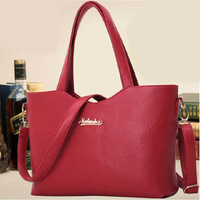 Messenger Genuine leather bag fashion bags handbags women famous brands bolsas femininas 2014 Free of charge value $4.99 Present