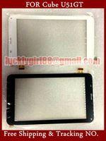 "Original 7"" Prestigio Touch Screen Cube U51GT Talk 7X Tablet FPC-TP070341u51gt Touch Panel Digitizer Glass Sensor Replacement"