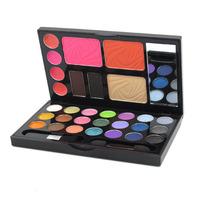 1pcs New Makeup Set 21 Colors Eyeshadow 2 colors Brow Powder Blusher Lip Gloss Combo Make Up Kit Palette