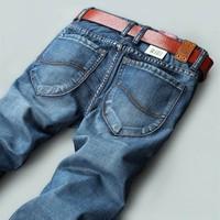 Retail fashion 2014 high quality Nostalgic blue cotton brand men's jeans New fashion 2014 leisure casual 3759