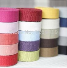 1.9cm Wide Braid 20Meter/Lot,Bag Belt Woven Shoulder Tape Handbag Belts Canvas Straps DIY Bag Strap Accessories,20 Colors Choose(China (Mainland))