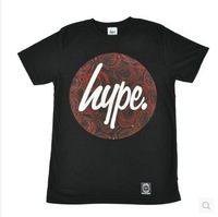 Free shipping hype UK hype red rose believe it skateboard short-sleeve t-shirts