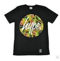 Free shipping hype UK hype Summer Pineapple flower believe it skateboard short-sleeve t-shirts