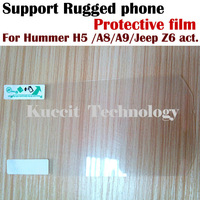 Original Protective film For rugged waterproof phone hummer H5 A8 A9 Jeep Z6 S15  Free shipping