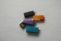 USB2.0 8G 16GB 32GB  Metal Rotating small U USB2.0 Flash Memory Drive U Disk Removable Storage Black Gift Box
