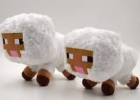 NEWEST Genuine Minecraft White Sheep JJ Dolls Minecraft Creeper Coolie Afraid Plush Toys Stuffed Toys of My World Baby Kids GIFT