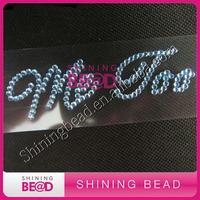 wedding ME TOO shoe sticker,free shipping.ME TOO acrylic rhinestone sticker