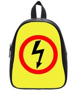Brand New Custom High-grade PU leather Lightning Backbag Bag School Bag