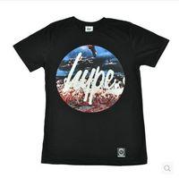 Free shipping hype UK hype flamingo believe it skateboard short-sleeve t-shirts