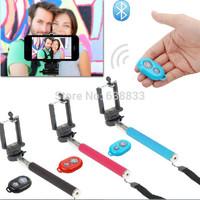 Extendable Monopod Tripod Selfie Stick+Phone Gopro Camera Selfprotrait Holder+Bluetooth Self-timer Remote Shutter Controller
