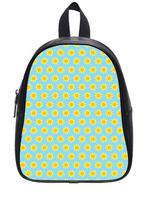 Direct Selling Custom High-grade PU leather Sun Pattern Backbag Bag School Bag