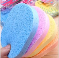 20PCS/LOT Free Shipping Natural Seaweed Wash Cotton Cleansing Flutter Cosmetic Powder Puff Seaweed Surface Flutter