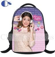 Violetta Girl  Brand Thermal Transfer  Vivid Printing Backpack Kids Schoolbag Book Pack Children School Bag Violetta