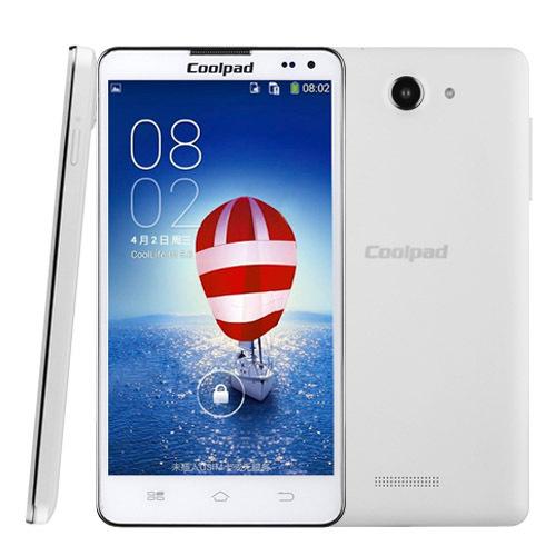 Original brand phone Coolpad 7275 4GB 5.5 inch 3G Android 4.2 Smart Phone MTK6589 1.2GHz RAM: 512MB Dual SIM WCDMA & GSM(China (Mainland))