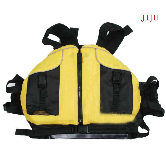 free shipping boyancy aids PFD, jacket kayak life jackets, white water rafting, sailing, canoeing ellow, red free size(China (Mainland))