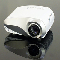 60 Lumens Home Theater LCD Portable LED Lamp Digital Mini Projector