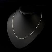 Very Thai 925 silver twist chain clavicle chain short paragraph simplicity