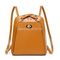 2014 female models fashion  Korean Institute of wind Messenger shoulder bag ladies casual multifunction backpack