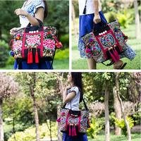 2014 Women Handbag Desigual Style Canvas Bag  Women Messenger Bag Vintage Embroidery Bag Women's Travel Bag Bolsa Mujer Feminina