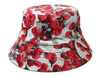 2014 New Floral Bucket Hat Men Women Camo Bucket Hat Outdoor Fishing Hat Sun Hat For Women