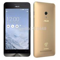 Case&film free! Zenfone 5 T00F gold,Intel Atom Z2580 2.0Ghz,5.0'' IPS screen 1280*720,1G RAM,8G ROM,Dual SIM,70 Languages