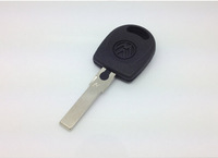 Car Key Blank Shell for Volkswagen B5 Key case for Passat Transponder Key Hu66 key cover for VW  with free shipping