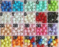New Women Fashion Design Ear Studs, Double Faced  ear Stud Earrings, Fancy  candy Stud ball ear stud Earring pearl Free Shipping