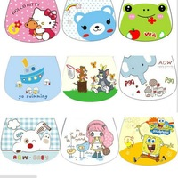 Free Shipping Four Layers high-quality cotton gauze suction Towel separated Medium Size 24*32cm babies printing scapegoat towel