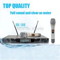 Wireless microphone sk168 for karaoke KTV Christmas Party,microfone sem fio profissional for karaoke system,stage show microfono