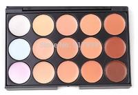 Professional 15 Colors Concealer Foundation Contour Face Cream Makeup Palette Salon/Party/Wedding/Casual