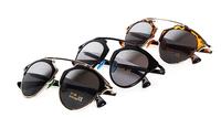 Vintage Metal frame Sunglasses Women Brand New Designer Cat Eye Glasses Fashion Women Decoration Men Classic Eyewear 5colors