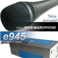 Top Quality Wholesale 2Pcs/lots E945 Dynamic Super Cardioid Vocal wire Microphone microfone fio microfono mic e 945