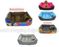 Deluxe Comfortable Cotten Pet Cat Dog Kitten Puppy Bed House Cushion Mat Nest P-0005