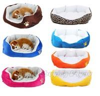 Soft Faux Fleece Warm Dog Cat Kitten Puppy Pet Bed House Cushion Mat Basket Nest P-0002