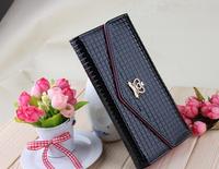 Fire wallet. Korean ladies long wallet chain light