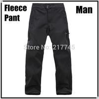 Brand Fashion Men's Outdoor Polar Fleece Soft Shell Casual Pants Ripstop Waterproof Windproof Climbing Sports Trousers Wholesale