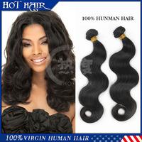 Beauty Forever 6A Brazilian Virgin Hair Weaves 2Pcs/Lot Bundles Unprocessed Virgin Brazilian Body Wave Wavy Brazilian Human Hair