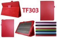 "New arrival 10"" tablet PU leather stand case for Asus transformer pad TF303, for Asus TF303 leather protective cover,free ship"