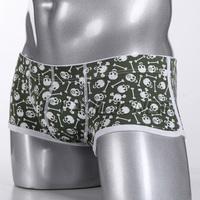 Hot Sale Cotton And Spandex Men's Underwear Boxers Fashion Shorts Man Male Boxer Shorts Brand CL7075