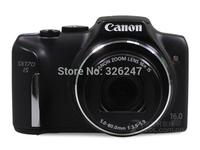 HD 16.0 MP CCD sensor digital camera SX170 IS 3 inch HD screen consumer 16X digital camera 4000*3000 telephoto digital camera